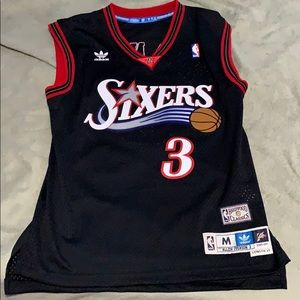 """Allen Iverson """"the answer"""" jersey 76rs"""